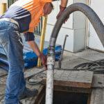 Grease Trap Pumping Vacuum